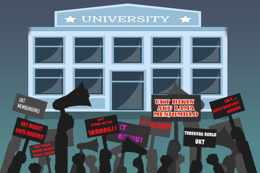 Sederhananya, buku ini mengulas tentang kenapa semakin hari perguruan tinggi semakin mahal? Apakah hal tersebut ujug-ujug saja terjadi? Kalau tidak, dari mana asalnya?