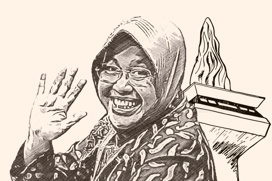 Menurut Saya Bu Risma Calon Gubernur DKI Jakarta