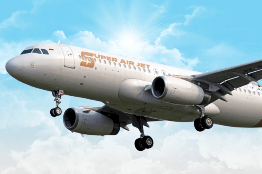 Super Air Jet, Maskapai Baru dengan Harga Murah